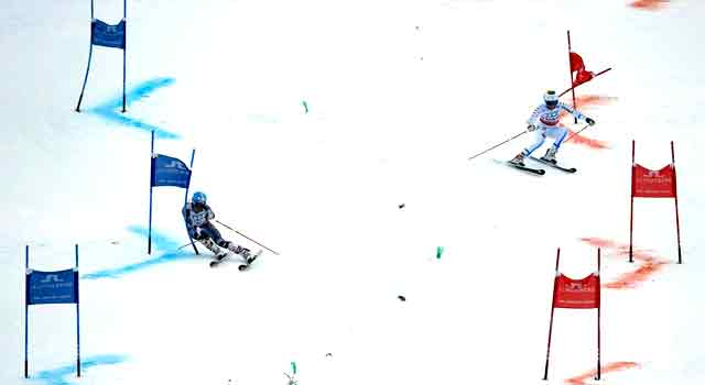 vinter-os-2018 alpine skiing national mixed team event