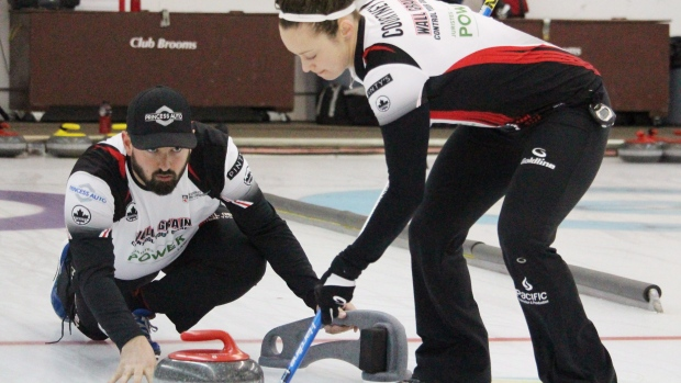 vinter-os 2018 curling mixed doubles
