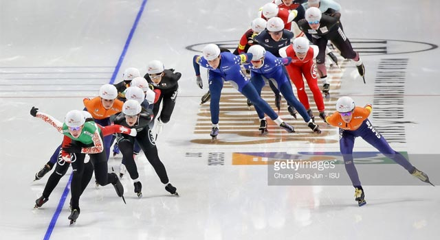 vinter-os 2018 mass-start speed skating