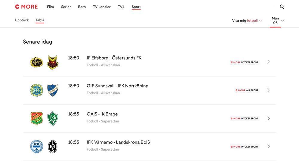 Allsvenskan Live Stream Streama Allsvenskan Allt Om Matchen